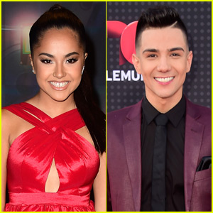 Singer Luis Coronel Serenades Becky G on Stage - Watch Now!