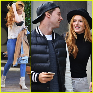 Bella Thorne & Patrick Schwarzenegger Hang Out In Vancovuer After 'Midnight Sun' Filming