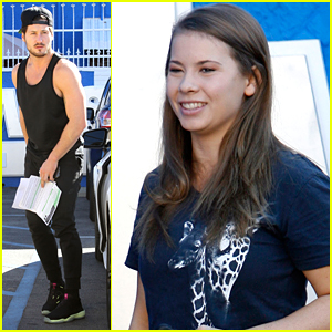Bindi Irwin & Val Chmerkovskiy Deliver DubSmash Gold - Watch Their Vid!