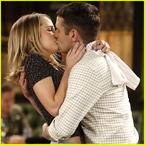 Bridgit Mendler 2014 Boyfriend Kissing