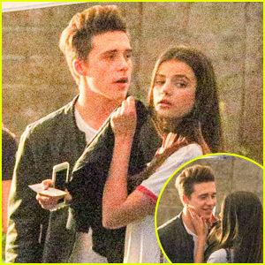 Brooklyn Beckham Cozies Up to Rumored Girlfriend Sonia Ben Ammar