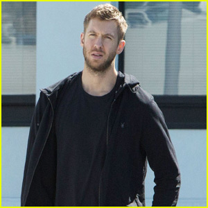 Calvin Harris Steps Out After Jingle Ball 2015 Line-Up Revealed