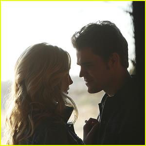Candice King & Paul Wesley Tease Steroline Curveball in 'The Vampire Diaries' Season Seven (JJJ Interview)