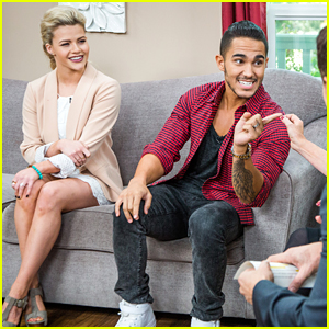 Carlos PenaVega Reveals Salsa Bet With Wife Alexa On 'Home & Family'