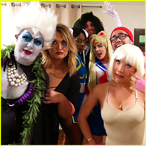 Colton Haynes Reveals Halloween Costume - Ursula!