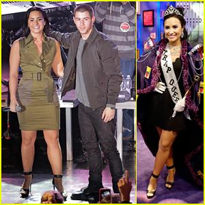 Demi Lovato & Nick Jonas Kick Off 'Future Now' Tour In NYC!