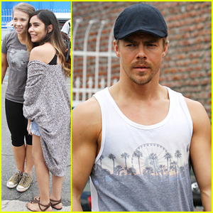 Derek Hough Explains His Lift With Bindi Irwin