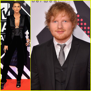 Ed Sheeran Suits Up to Host MTV EMAs 2015 With Ruby Rose!