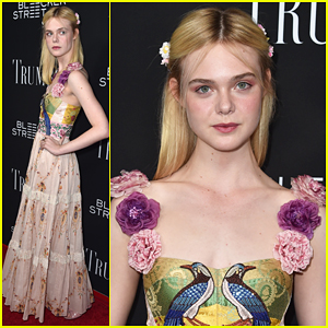 Elle Fanning Is Floral Beauty At 'Trumbo' Premiere!