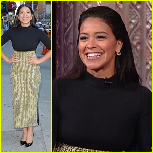 Gina Rodriguez Backs Her Father's Mantra 'I Can & I Will' On The Late Show