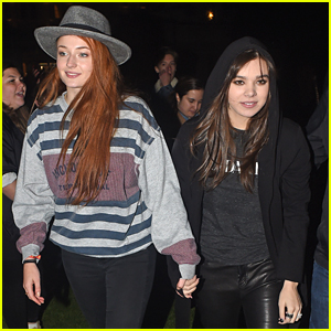 Hailee Steinfeld & Sophie Turner Have Giant Fan Meet Up At Hyde Park In London