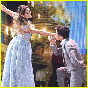 Hayes Grier Turns Into A Charming Prince For Viennese Waltz With Allison Holker On DWTS