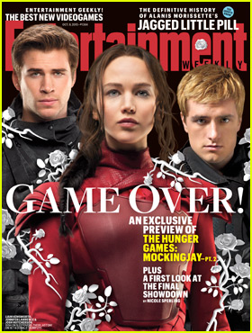 Jennifer Lawrence & 'The Hunger Games' Stars Preview 'Mockingjay - Part 2' for 'EW'