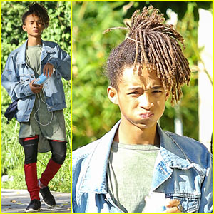 Jaden Smith Stays Hydrated with Boxed Water