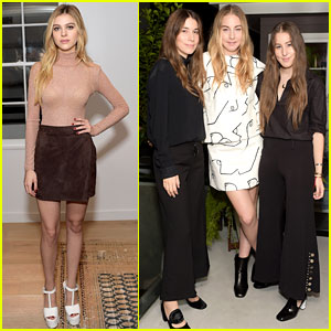 Nicola Peltz & Haim Dress Up for The Apartment Launch