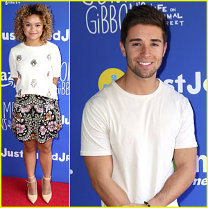 Jake Miller & Rachel Crow Bring Musical Power to Just Jared Jr.'s Fall Fun Day with Amazon Prime!