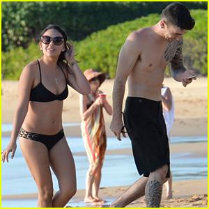 Janel Parrish Has Fun In the Sun With Boyfriend Justin Altamura in Maui
