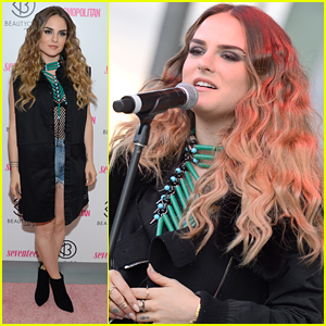 JoJo Drops Acoustic 'When Loves Hurts' Before BeautyCon NYC Performance
