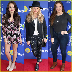 Kelli Berglund, Lauren Taylor, & Miranda May Ring In Fall with Just Jared Jr.!