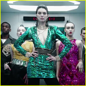 Kendall Jenner Shows Off Some Arm-Dancing Skills for Balmain x H&M Campaign Video - Watch Now!
