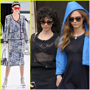 Kendall Jenner Gets Support From BFF Cara Delevingne at Paris Fashion Show