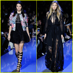 Kendall Jenner & Gigi Hadid Rule Paris Fashion Week Shows & Parties