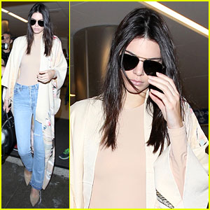 Kendall Jenner Flies to Lamar Odom's Side, Makes Him Smile!