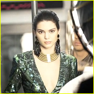 Kendall Jenner Puts Her Dance Moves on Display in New Balmain Video!