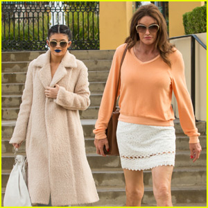 Kylie Jenner Grabs a Bite to Eat With Caitlyn