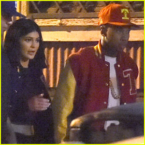 Kylie Jenner Films a Music Video for Tyga