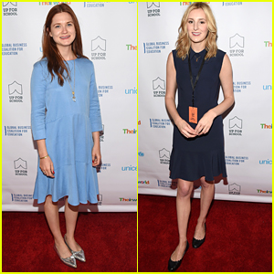 Bonnie Wright & Laura Carmichael Speak Out For #UpForSchool With Unicef