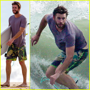 Aw! Liam Hemsworth Brags That He Has the 'Best Mum in the World'!