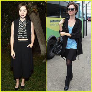 Lily Collins Hosts A Night Of Old Hollywood Glamour!