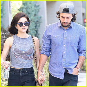 Lucy Hale Holds Hands With Boyfriend Anthony Kalabretta in WeHo