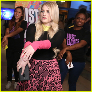 Meghan Trainor Hosts Free Pop Up Concert With Just Dance 2016