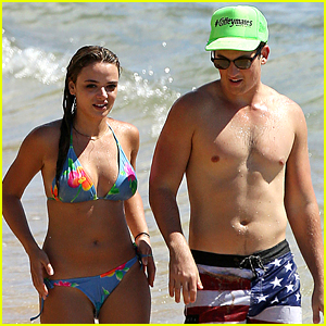 Miles Teller Goes Shirtless for Hawaii Beach Day!
