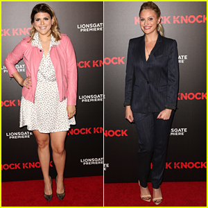 Molly Tarlov & Kirby Bliss Blanton Hit Up 'Knock Knock' Premiere