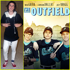 Nash Grier Heads To NYC For 'The Outfield' Promo