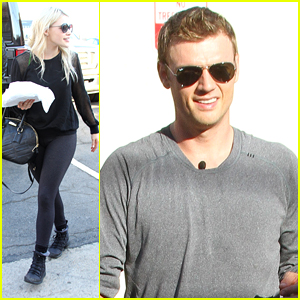 Nick Carter & Witney Carson Are Looking For A Team Name For DWTS' Switch Up Week