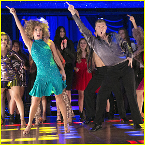 Nick Carter & Sharna Burgess Deserved A Perfect Score For Their Disco Samba on DWTS