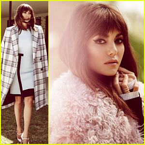 Nina Dobrev Sports Full Bangs & Looks Even More Like Victoria Justice In 'WhoWhatWear' Interview