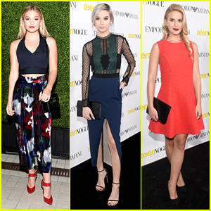 Olivia Holt, Amanda Steele & Sabrina Carpenter Bring the Party To Teen Vogue's Young Hollywood Bash