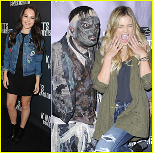 Olivia Holt Hits Up Knott's Scary Farm After 'The Standoff' Casting News