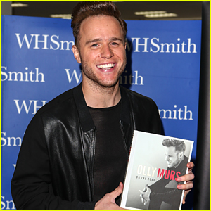 Olly Murs Debuts New Book 'On The Road' After 'Kiss Me' Single Drops