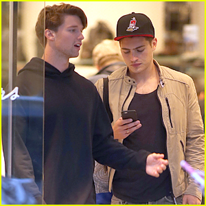 Patrick Schwarzenegger & Bella Thorne Are Matchy, Matchy Before 'Midnight Sun' Filming