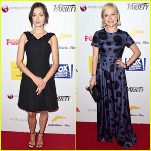 Phoebe Tonkin Gets Glam For Australians In Film Awards Gala 2015!