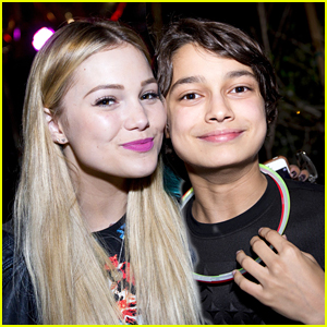 Rio Mangini Celebrates 13th Birthday With Olivia Holt & 'Bella & The Bulldogs' Co-Stars