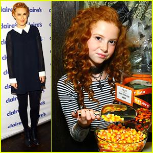 Francesca Capaldi & Rumer Willis Get Quite A Scare At Claire's Halloween Bash