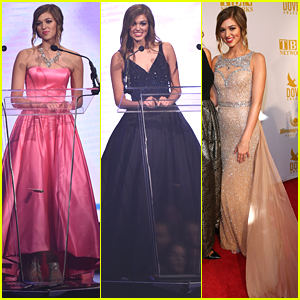 Sadie Robertson Wears Three Different Glam Gowns For Dove Awards 2015