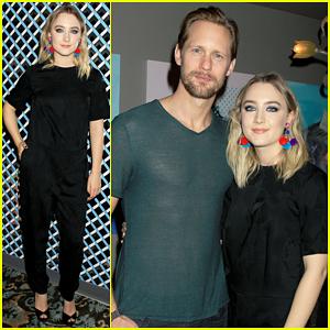 Saoirse Ronan Gets Support From Alexander Skarsgard At 'Brooklyn' Screening!